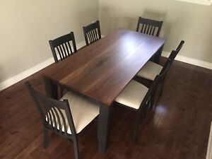 NEW WALNUT DINING TABLE