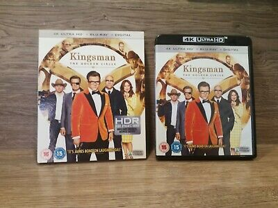Kingsman The Golden Circle: 4K UHD Blu-ray ( Only ) With Case And Slip Cover
