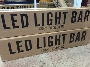 "22"" LED Light Bar + free LED Light Bar Wiring Harness Kemps Creek Penrith Area Preview"