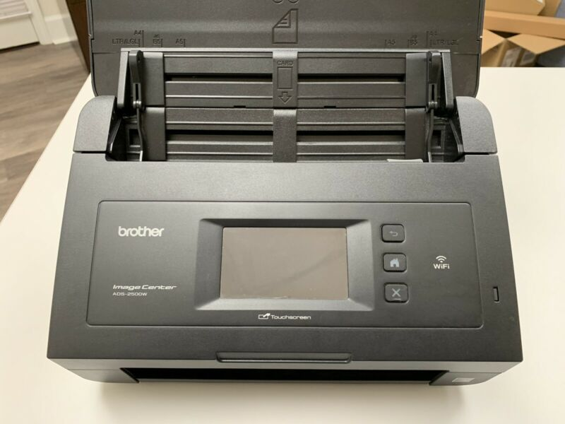BROTHER ADS-2500W TOUCHSCREEN DOCUMENT SCANNER