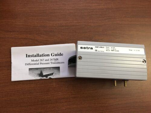 Setra M267-MR2-C 2671MR2WD11A1CNKE1 Differential Pressure Transmitter
