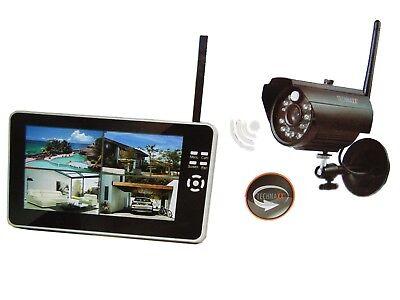 Technaxx Easy Überwachungskamera mit Aufnahmefunktion Security Kamera Set TX-28