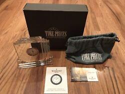 Waterford Clock Metropolitan Seiko Insert Original Box Dust Bag Manual
