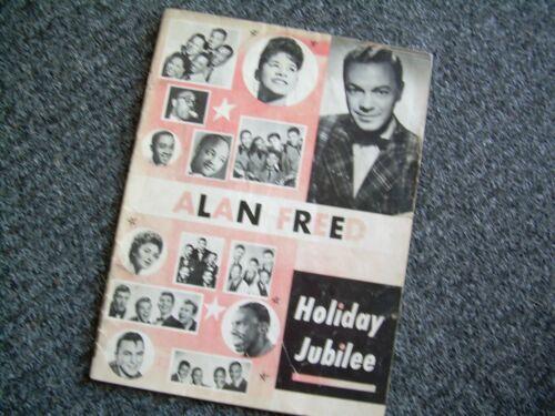 ALAN FREED  Holiday Jubilee 1957