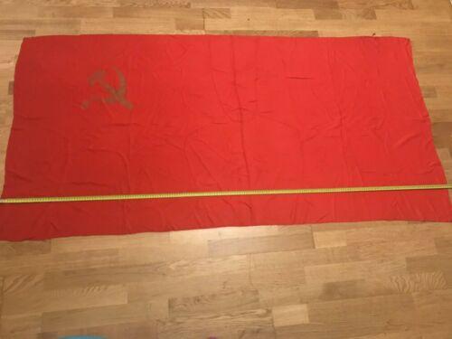 Original Great Flag USSR Vintage Silk