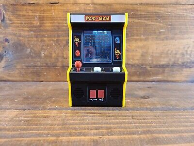 "Pac-Man Mini Arcade Game 6"" Handheld Machine Basic Fun Portable Battery Operated"