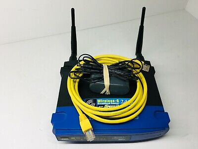 LINKSYS Wireless-G Broadband Router 2.4 Ghz WRT54GS V7 with 4-Port Switch TESTED ()