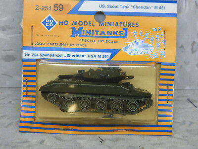 Roco Minitanks (New) Modern US M-551 Sheridan Main Light Scout Tank Lot #2359 for sale  Chicago