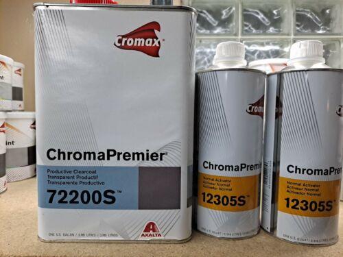 Cromax ChromaPremier Productive Clearcoat 72200S with (2x) 12305s Activators.