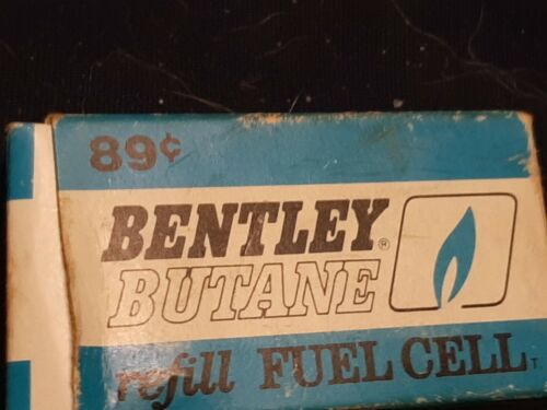 VINTAGE Bentley Butane Refill Cartridges