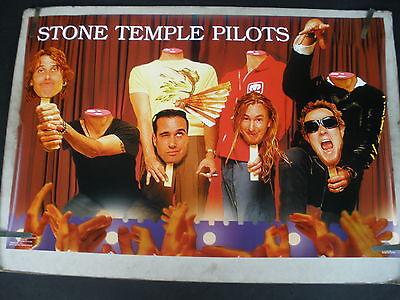 RARE STONE TEMPLE PILOTS 1993 VINTAGE ORIGINAL MUSIC POSTER