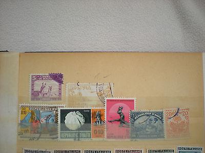 Haiti  -  div. Briefmarken