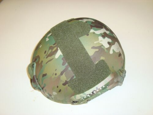 USGI BulletProof-IT Highcut Ballistic Helmet WILCOX Level IIIa L/XL Multicam