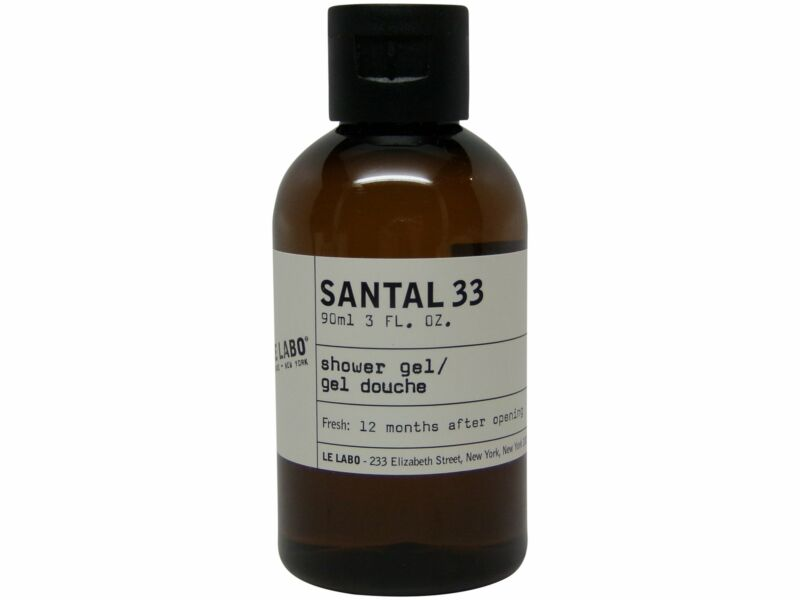 Le Labo Santal 33 Shower Gel lot of 2 each 3oz bottles. Total of 6oz