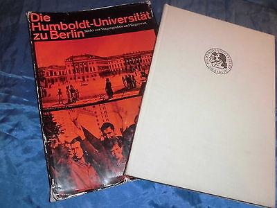 DIE  HUMBOLDT - UNIVERSITÄT  ZU  BERLIN  - Chronik ,  Bildband von 1973 / DDR