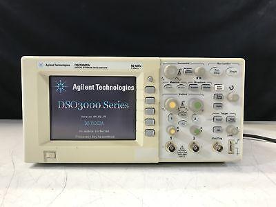 Agilent Technologies Dso3062a Digital Storage Oscilloscope 60mhz 1 Gsas