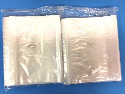 Top Quality 200 12x18 Clear 2mil Reclosable Zip Lock Bag Storage Ziplock Bags