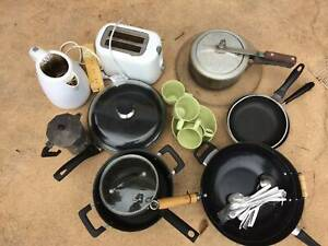 Free Kitchen stuff, carpet, bedding, camping & more