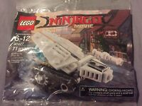 LEGO The Ninjago Movie Ice Tank Set 30427 71 Piece Polybag Brand New