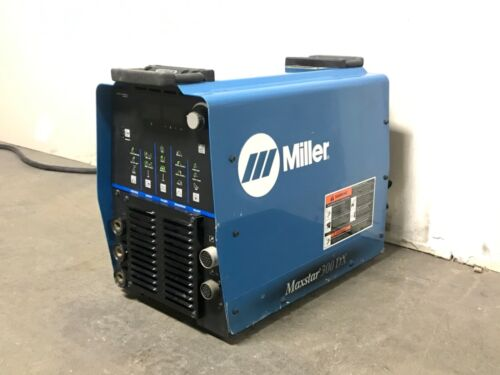Miller Maxstar 300 DX Multi-Process Welder With High Freq and Pulse—SHIPS FREE