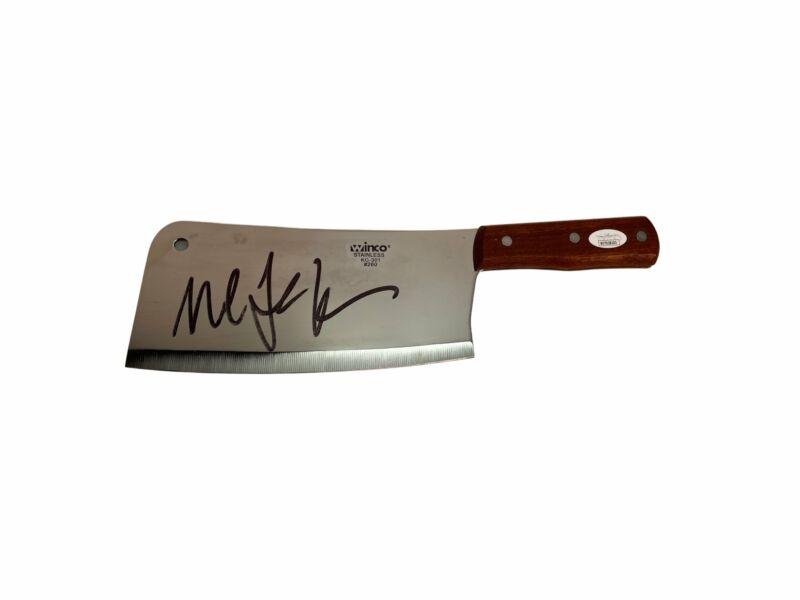 Michael C. Hall Autograph Dexter Real Metal Cleaver Prop Signed JSA COA
