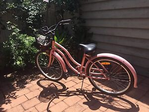 Pink Step-through Bicycle - Needs TLC Carrington Newcastle Area Preview
