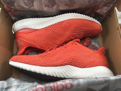 e9b9b2d0b4b Adidas Men s Alphabounce Em M Blaze Orange Running Shoes Size 12 - BRAND NEW  · Adidas Men