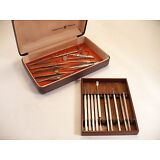Lot of 19 Antique Vintage Eye Surgery Surgical Instruments Weder, Adams, PSM, +