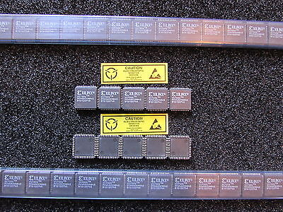 Xc7336-10pc44c Xilinx 36 Macro Cell Cmos Cpld 44pin Plcc 5 Pieces Usa New