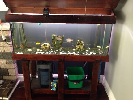 4 foot fish tank complete set up Balcatta Stirling Area Preview