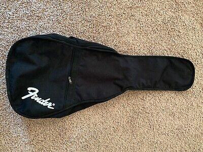 Soft Fender Gig Bag Soft Case Electric Guitar Black Carry Handles Backpack Strap