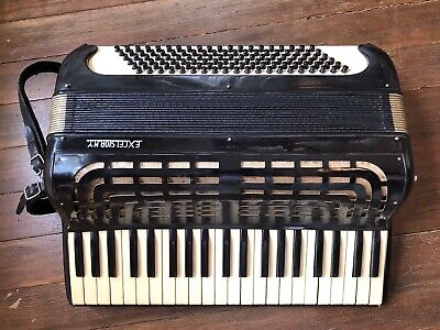 Rare EXCELSIOR Italy Italian Professional Concert Accordion 1950s Ser. 7415