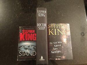 3 Stephen King books***buy or trade