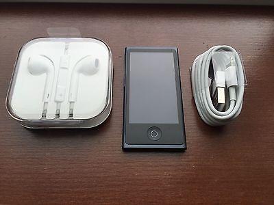 Apple iPod Nano 7th Generation Gen (16 GB) Slate Black New