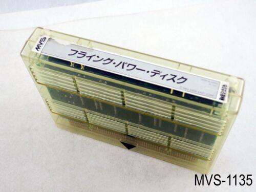 Flying Power Disc / Windjammers Neo Geo MVS Arcade Japanese Import Disk Neogeo