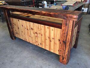 Cedar Outdoor Bar