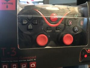 New, 2-Bluetooth gamepads for sale!