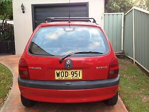 2000 Holden Barina Hatchback Newcastle Newcastle Area Preview