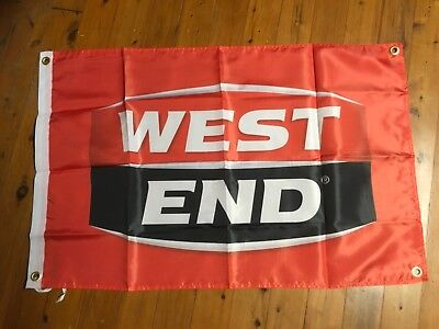 South australian beer banner bar West end  beer poster sign man cave pool room, used for sale  Shipping to Canada