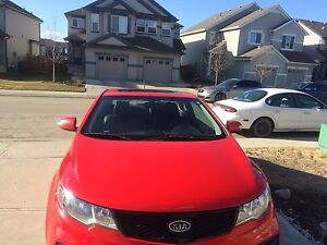 KIA FORTE KOUP SX 2010-Looking for trade in with SUV