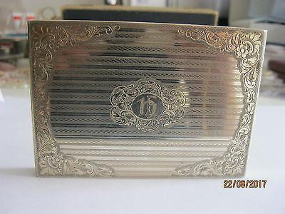 großes,prächtiges Silber Zigarettenetui, 900er und 2 weitere Punzen, 165,01g,top