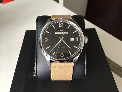 Pre-owned Hamilton Jazzmaster Viewmatic automatic  black dial
