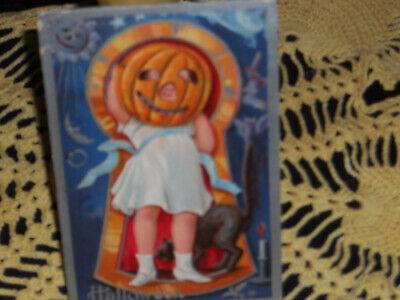 Vintage Halloween Post CARD 1909