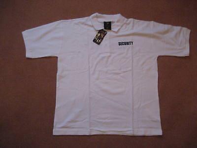 SECURITY - Polohemd, weiß, Kurzarm in Gr.: XXL , von Viper
