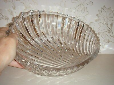 Brand New Glass Serving Bowl Seashell Design Purchased at Lane Crawford Shell