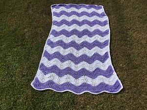 Crochet Baby Wavy Blanket Capalaba Brisbane South East Preview