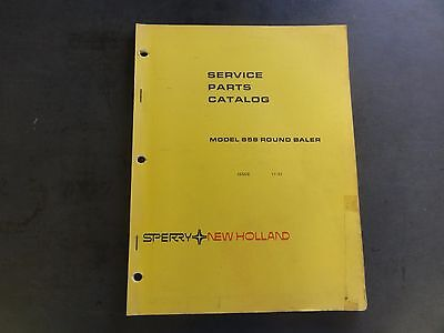 New Holland Model 858 Round Baler Service Parts Catalog  11-83