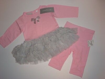 Dresses First (First Impressions Tutu Dress & Matching Leggings ~ Size 0-3 Months ~)