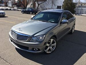2009 Mercedes-Benz C230 4MATIC 129,000km **COMME NEUF**
