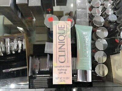 CLINIQUE SENSITIVE SKIN MAKEUP SPF 15 (02 COOLING BUFF)28.3 G Clinique Sensitive Skin Makeup